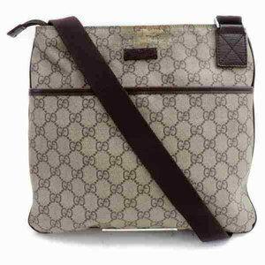 Auth Gucci Gg Crossbody Bag Beige #6295G57